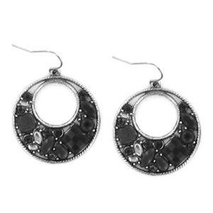 🎀3/$22🎀 Black Stone Earrings